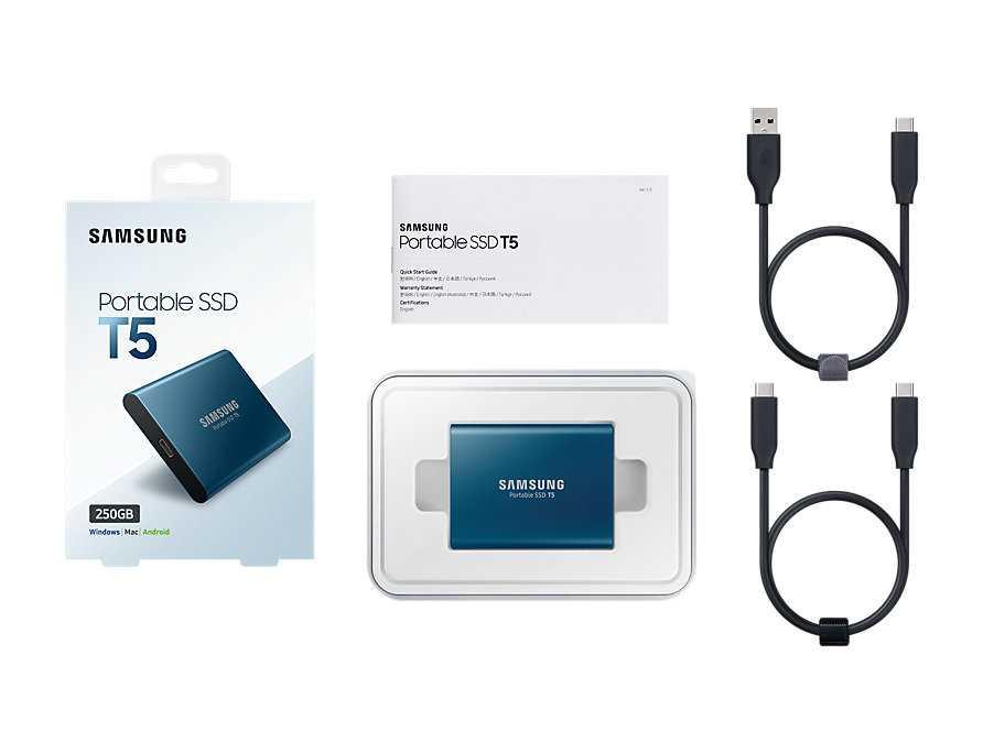 Накопитель на жестком магнитном диске Samsung Твердотельный накопитель SSD Samsung MU-PA250B/WW