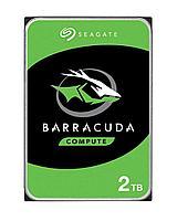 """Накопитель на жестком магнитном диске Seagate Жесткий диск HDD 2Tb Seagate Barracuda ST2000DM005 3.5"""" SATA 6Gb/s 256Mb 5400rpm"""