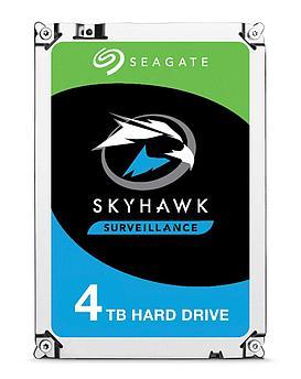"Накопитель на жестком магнитном диске Seagate Жесткий диск HDD 4TB Seagate SkyHawk ST4000VX007 3.5"" SATA 6Gb/s"