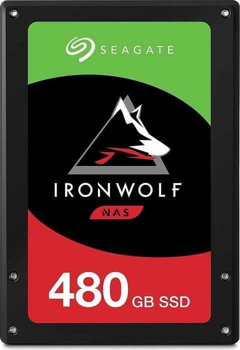 Накопитель твердотельный Seagate ZA480NM10011 IronWolf 110 SSD 3D NAND  480GB 25 SATA-III 6 Gb/sec (TLC)