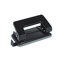 Дырокол ErichKrause® Quadro, до 10 листов (в коробке по 1 шт.), чёрный