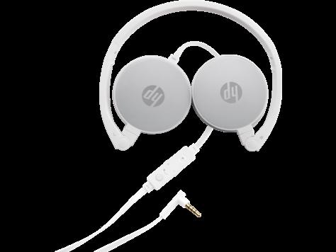 Стереогарнитура HP 2AP95AA, H2800, белая с серебристо-серой отделкой