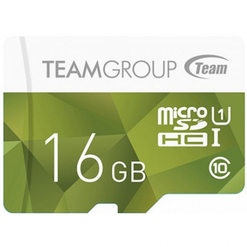 Карта памяти Team Group Color Card MicroSDHC 16GB UHS-I TCUSDH16GUHS02, Read: 80MB/s; Write: 15MB/s, No