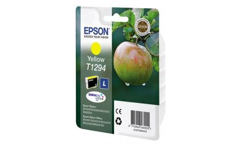 Картридж струйный Epson C13T12944012 Yellow for SX420W/BX305F new