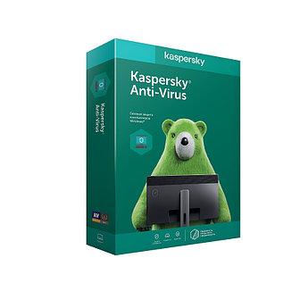 Программное обеспечение Kaspersky/Kaspersky Anti-Virus Kazakhstan Edition. 2020 Box 2-Desktop 1 year Base