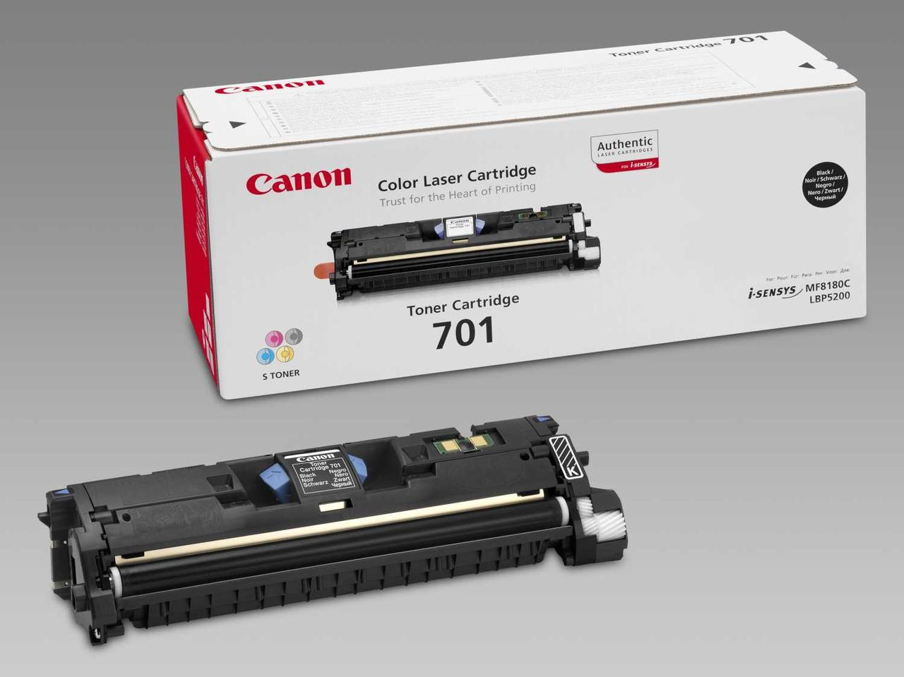 Тонер Canon CARTRIDGE 701 BLACK/LBP5200