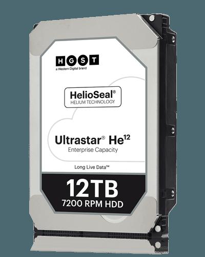 Накопитель на жестком магнитном диске WD Жесткий диск Western Digital Ultrastar DC HC520 HUH721212ALE604