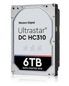 Накопитель на жестком магнитном диске WD Жесткий диск Western Digital Ultrastar DC HC310 HUS726T6TALE6L4