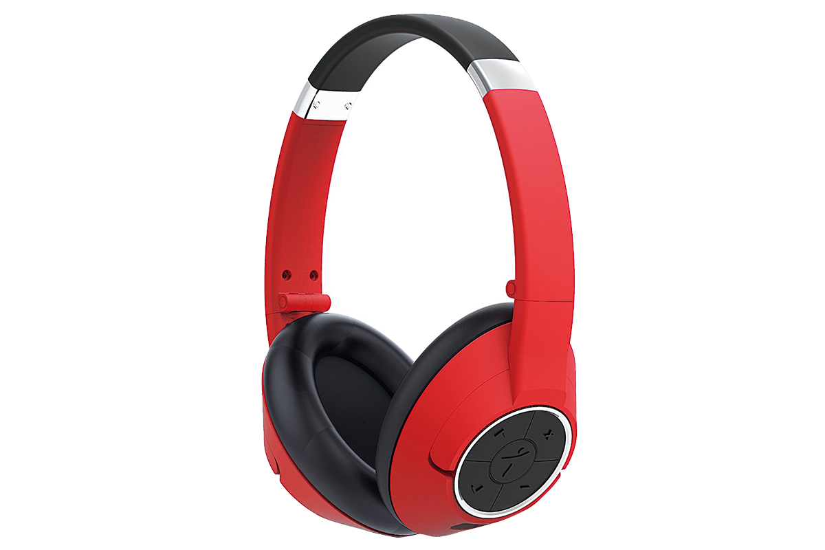 Бeспроводное наушники Genius HS-930BT Ruby Red