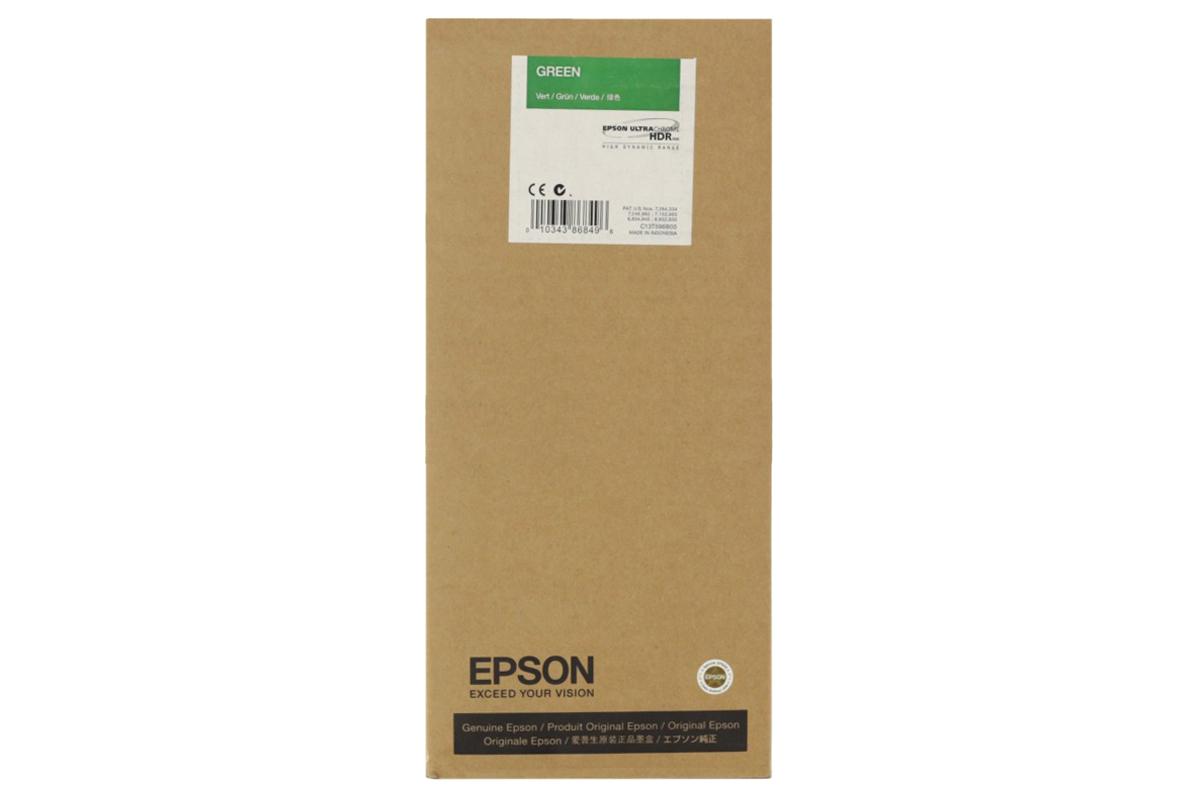 Картридж Epson C13T636B00 Green