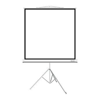 """Экран на треноге Deluxe DLS-T180xW (70""""х70""""), ? - 100"""", Раб. поверхность 172х172 см., 1:1"""