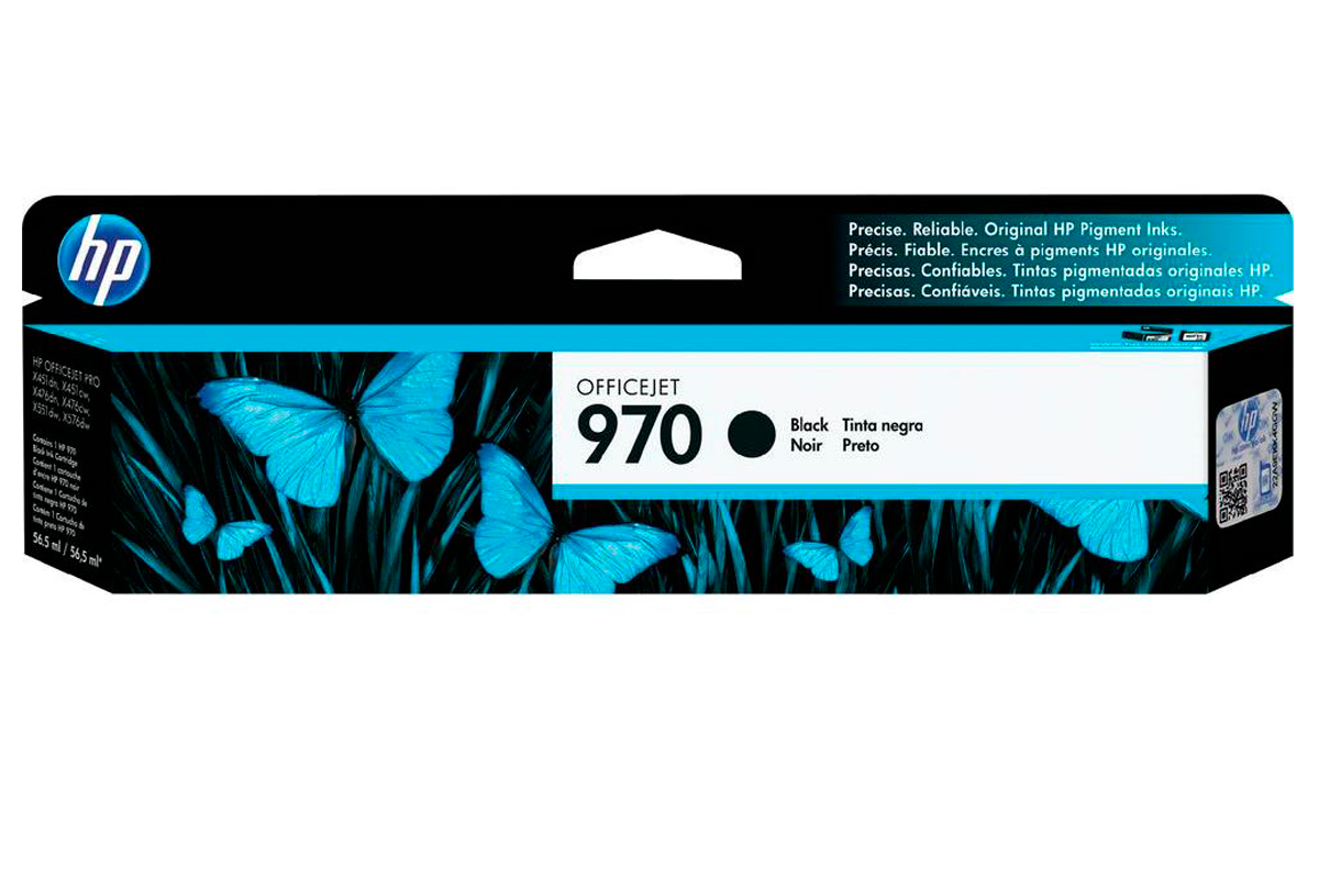 Картридж HP 970 Officejet CN621AE Black