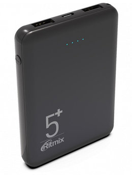 Зарядное устройство Power bank Ritmix RPB-5000 черный
