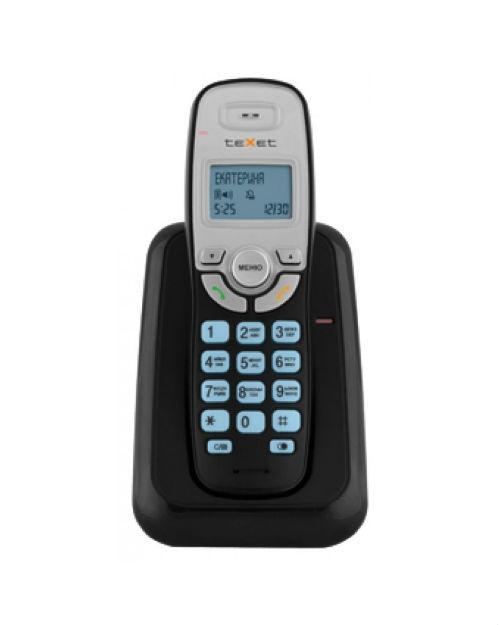 Бесшнуровой телефонный аппарат teXet TX-D6905А цвет черный