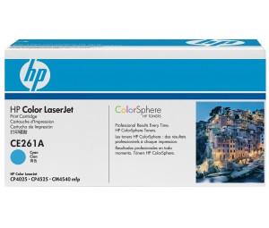 Картридж HP CE261A (648A) голубой