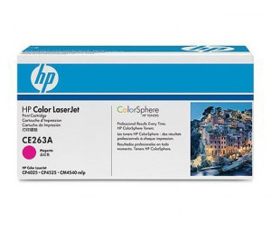 Картридж HP CE263A (648A) пурпурный