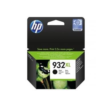 HP CN053AE Black Ink Cartridge №932XL for OfficeJet 7110/6100/7510, up to 1000 pages.