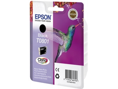 Epson C13T08014010 T0801 Black