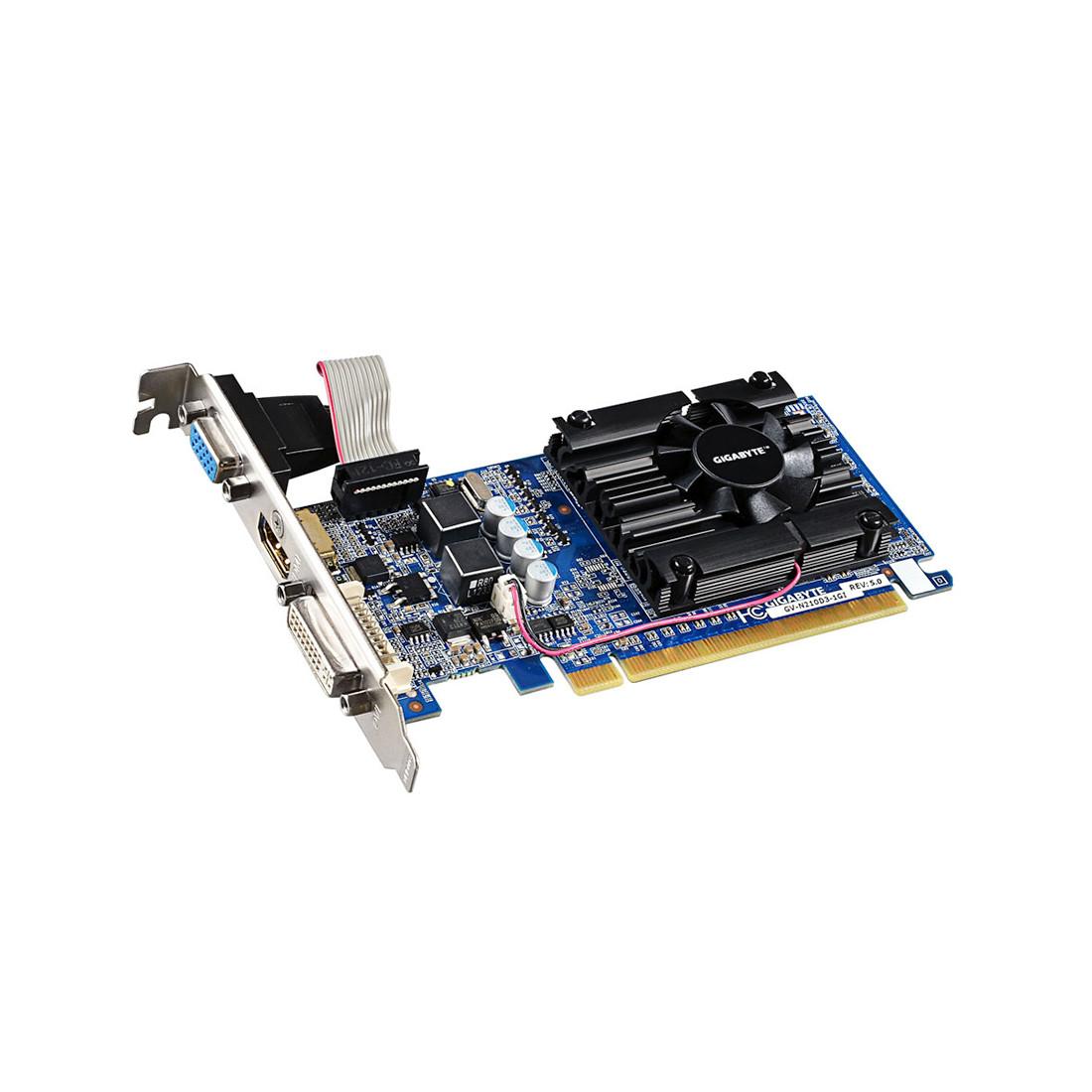 Видеокарта Gigabyte (GV-N210D3-1GI)