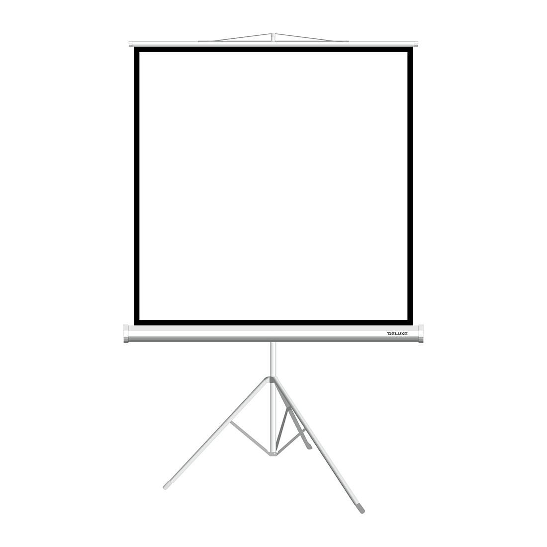 """Экран на треноге Deluxe DLS-T203xW (80""""х80""""), ? - 113"""", Раб. поверхность 195х195 см., 1:1"""