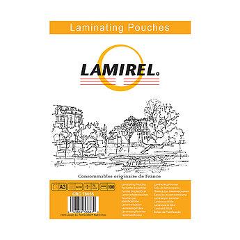 Пленка для ламинирования  Lamirel LA-78655 А3, 75мкм, 100 шт.