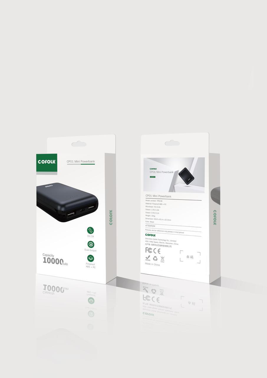 CP01 Mini Powerbank 10000mAh