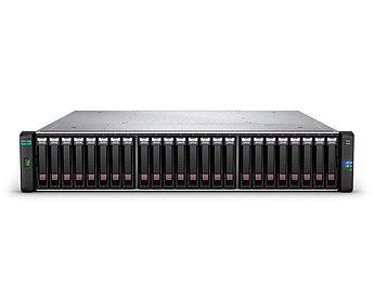 Дисковый массив Q1J01B HPE MSA 2050 SAN Dual Controller SFF Storage (2xControllers/ 2xAC PS/ 24SFF/ NO
