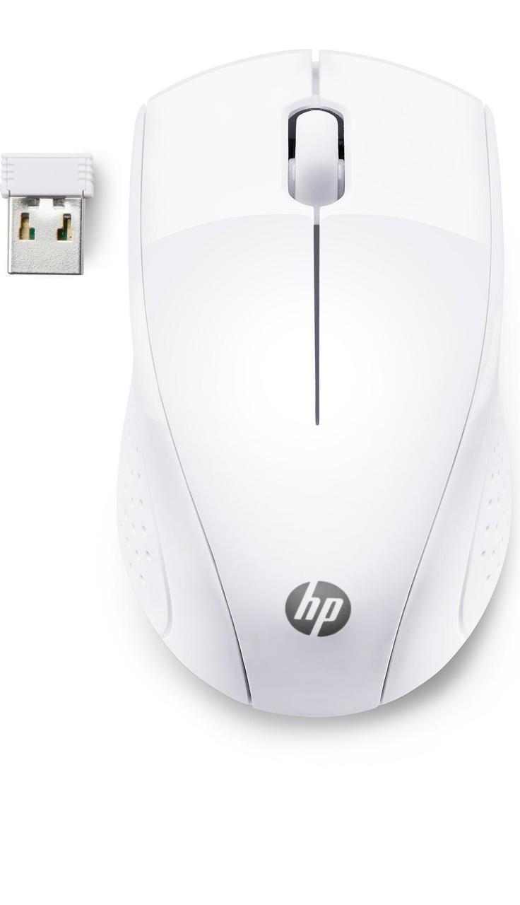 Мышь беспроводная HP 7KX12AA, 220, белая