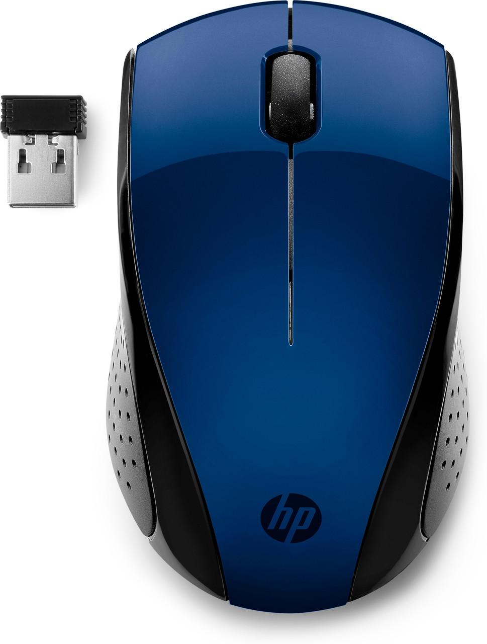 Мышь беспроводная HP 7KX11AA, 220, синяя