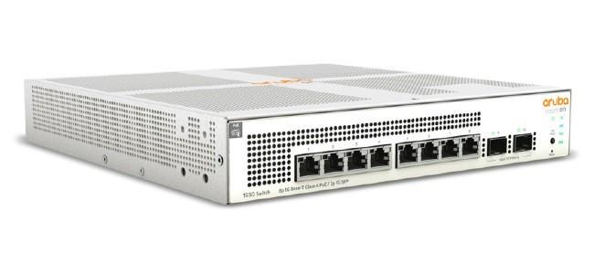 Коммутатор HP Enterprise Aruba Instant On 1930 8G Class4 PoE 2SFP 124W Switch (JL681A#ABB)