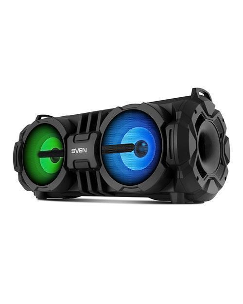 SVEN PS-485, черный, акустическая система 2.0, мощность 2x14 Вт (RMS), Bluetooth, USB, microSD