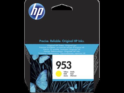 Картридж струйный HP F6U14AE 953, Yellow Original Ink Cartridge