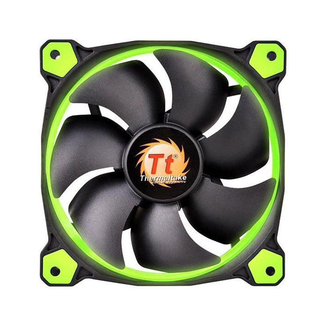 Кулер для компьютерного корпуса Thermaltake Riing 12 LED Green