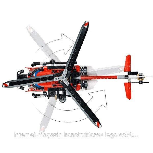LEGO Technic 42092 Конструктор Лего Техник Спасательный вертолёт - фото 3
