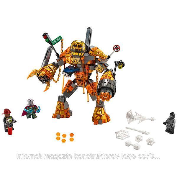 LEGO Super Heroes Конструктор ЛЕГО Супер Герои Бой с Расплавленным Человеком - фото 1