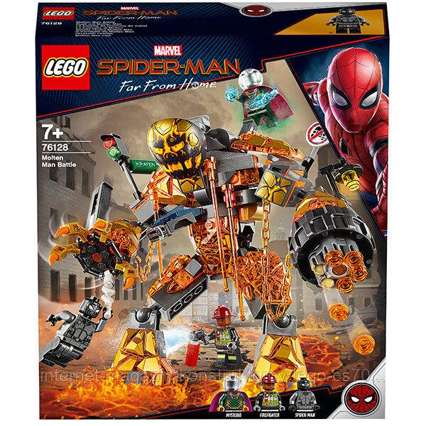 LEGO Super Heroes Конструктор ЛЕГО Супер Герои Бой с Расплавленным Человеком - фото 2