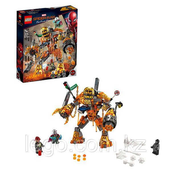 LEGO Super Heroes Конструктор ЛЕГО Супер Герои Бой с Расплавленным Человеком - фото 3