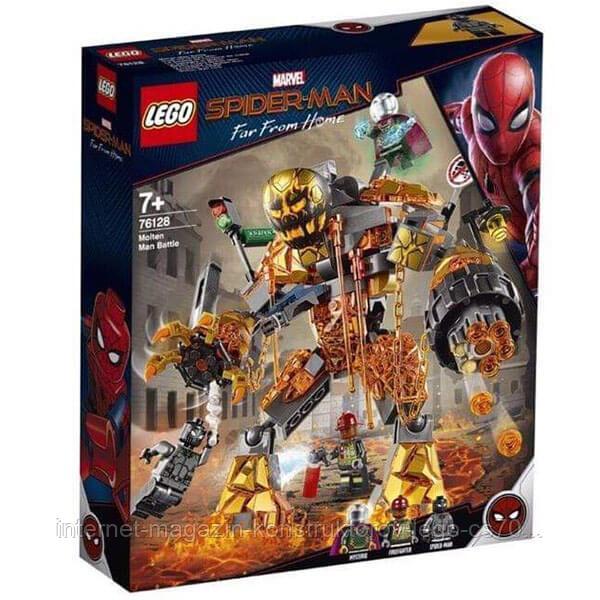 LEGO Super Heroes Конструктор ЛЕГО Супер Герои Бой с Расплавленным Человеком - фото 4