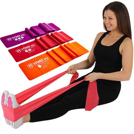 Эластичные ленты для фитнеса. Комплект из 3 штук, фото 2