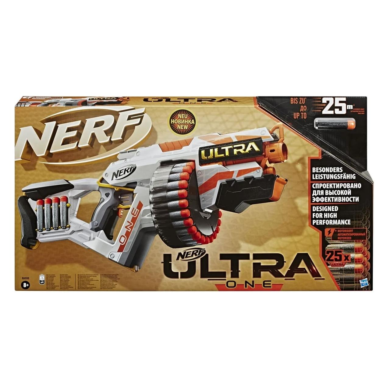 """Нёрф Nerf Ultra Бластер """"Ультра Уан"""" Ultra One СТРЕЛАМИ ULTRA DARTS"""