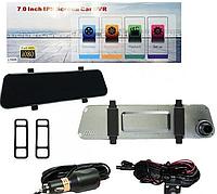 Зеркало Видеорегистратор DVR L1025 Экран 2 Камеры, фото 1