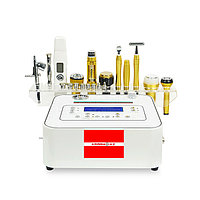 Аппарат косметологический 10 в 1 спреер скрабер вакуум RF крио фонофорез гальваника микротоки мезо, фото 1