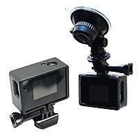Автомобильный комплект (держатель и зарядка), SJCAM, SJ302, Для всех экшн-камер SJCAM, кроме SJ6 Leg