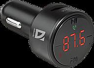 Модулятор FM Defender RT-Funk BT/HF, USB 2.1 A