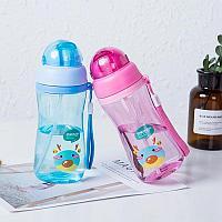 Бутылка для воды с героями мультфильмов детская душа