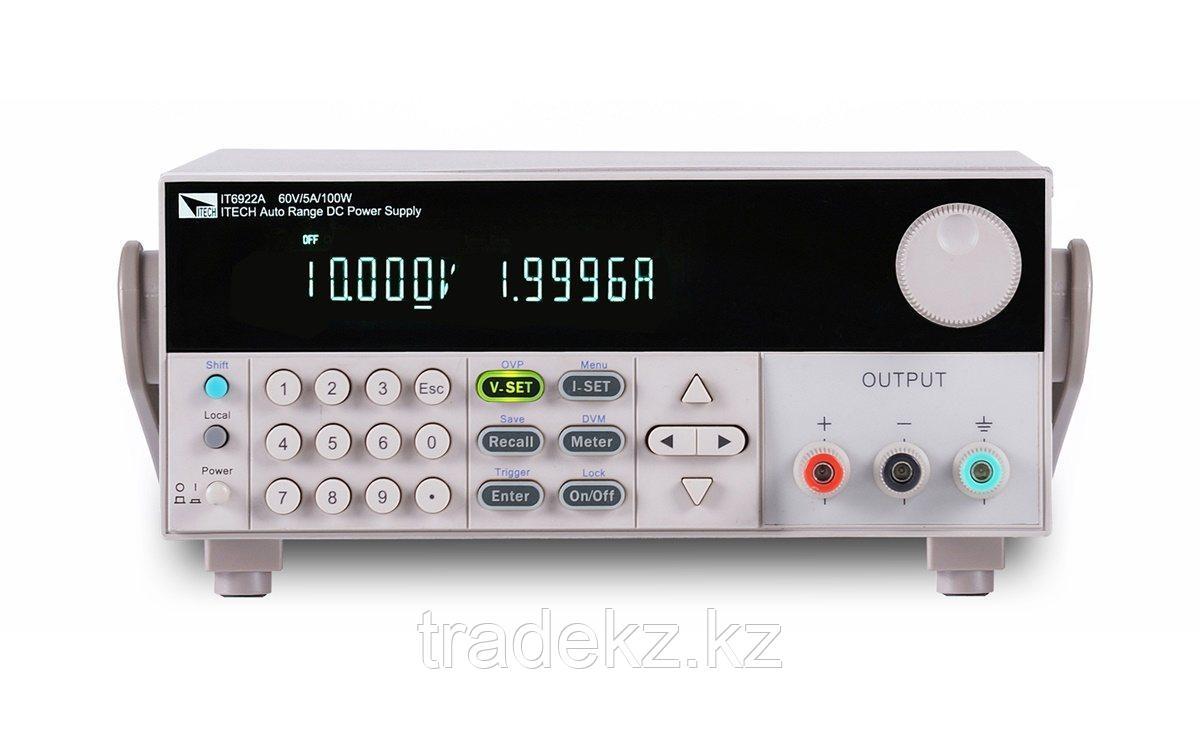 Лабораторный источник питания ITECH IT6932A, напряжение до 60 В, ток: до 10 А, мощность: до 200 Вт