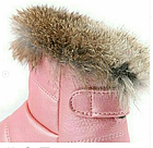 Сапожки осенне-зимние, светло-розовые, фото 2