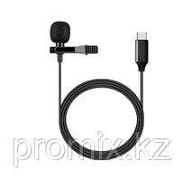 Петличный микрофон Type-c разъем 1.5м петличка Lavalier Micro Cravate