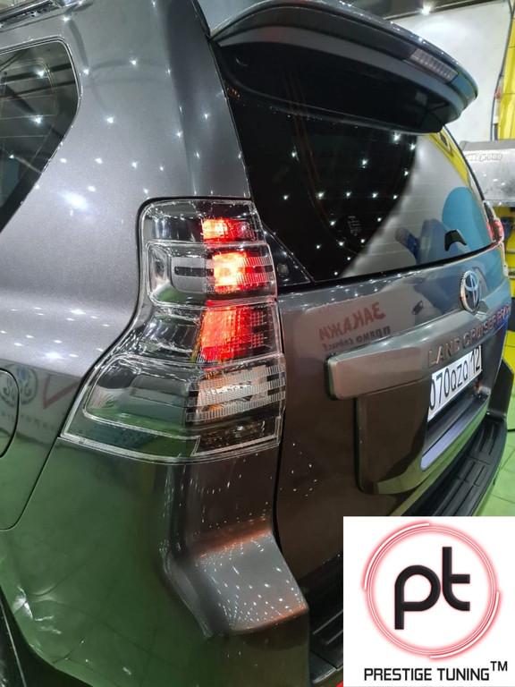 Наши клиенты г.Актау Установили задние фонари STYLE на Land Cruiser Prado 150 2014-17✔ #prado #prado150
