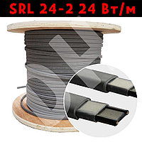 SRL 24-2 24 Вт/м Неэкранированный кабель для обогрева водостоков, труб, резервуаров, открытых площадей.